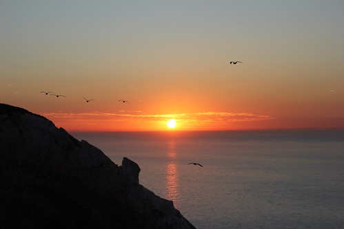 Sunrise from Beachy Head