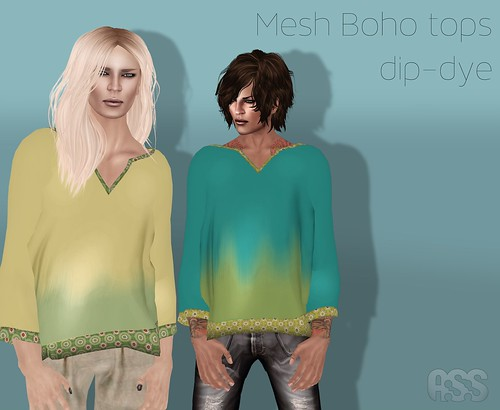 A:S:S Mesh boho tops by Photos Nikolaidis