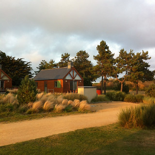 Les Ormes Lodges - our home for a week