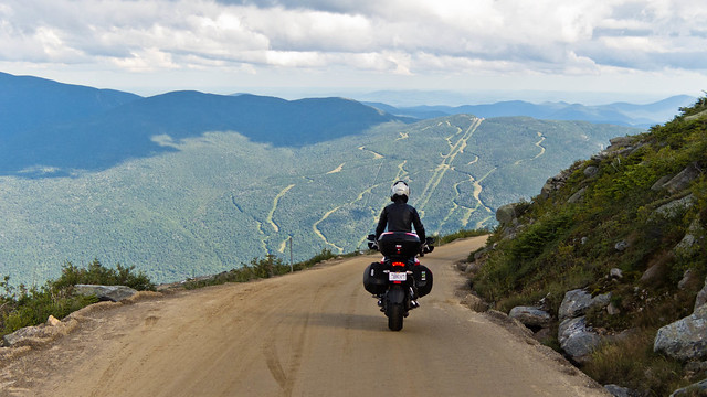 Descending the Mount Washington Auto Road on The Tomato