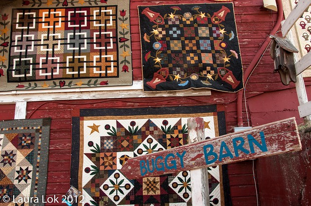 buggy barn quilt show 2012