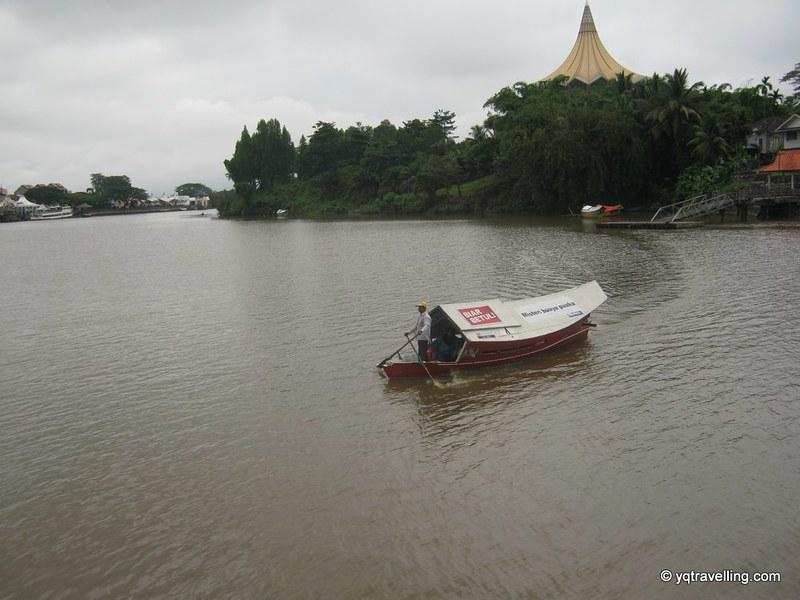Boat in Kuching