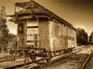 Old train wagon.(Explore & Frontpage)