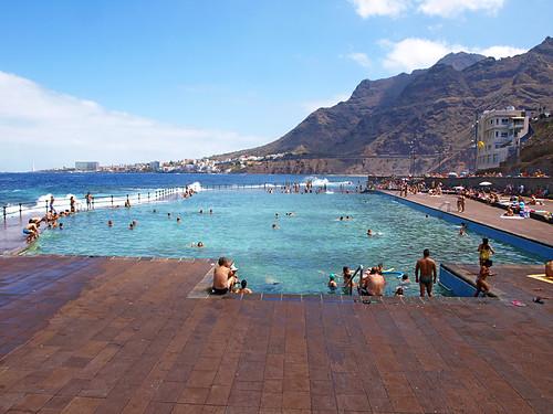Sea pool at Bajamar, Tenerife