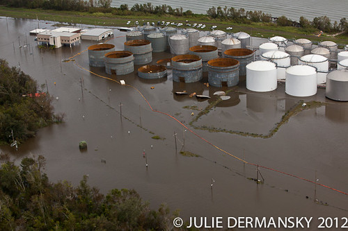 Hurricane Isaac hits Stolthaven Chemical Plant 2