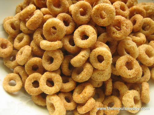 Limited Edition Kellogg's The Simpsons Homer's Cinnamon Donut Cereal Closeup