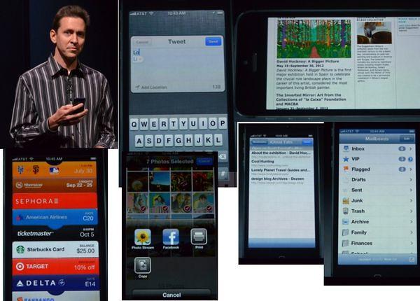 Приложения на iPhone 5