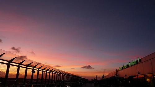 sunset japan buildings tokyo airport august narita 2012 nrt