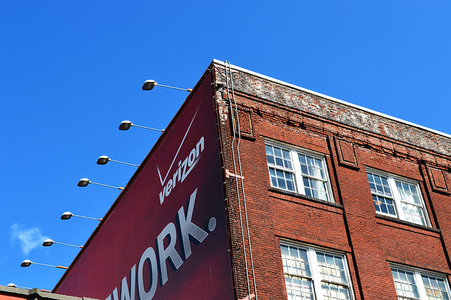 Brick & Advertisement