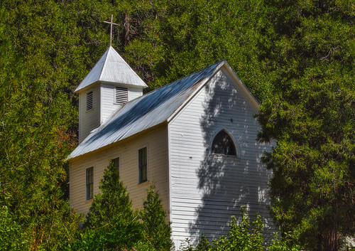 Old Church at Sierra City (Cruising Highway 49)