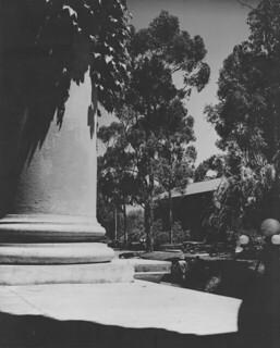Looking toward Holmes Hall in 1946