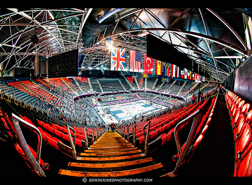 London 2012 Basketball Eyrie View