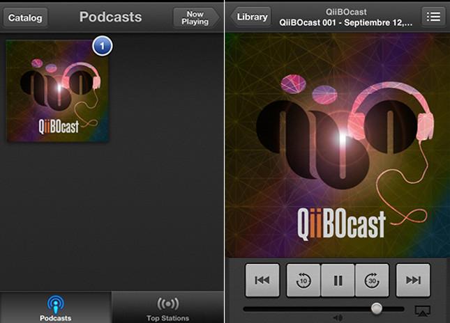 QiiBOcast iOS