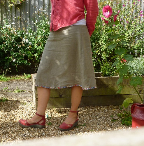 Skirt number two. Newlook pattern 6053.