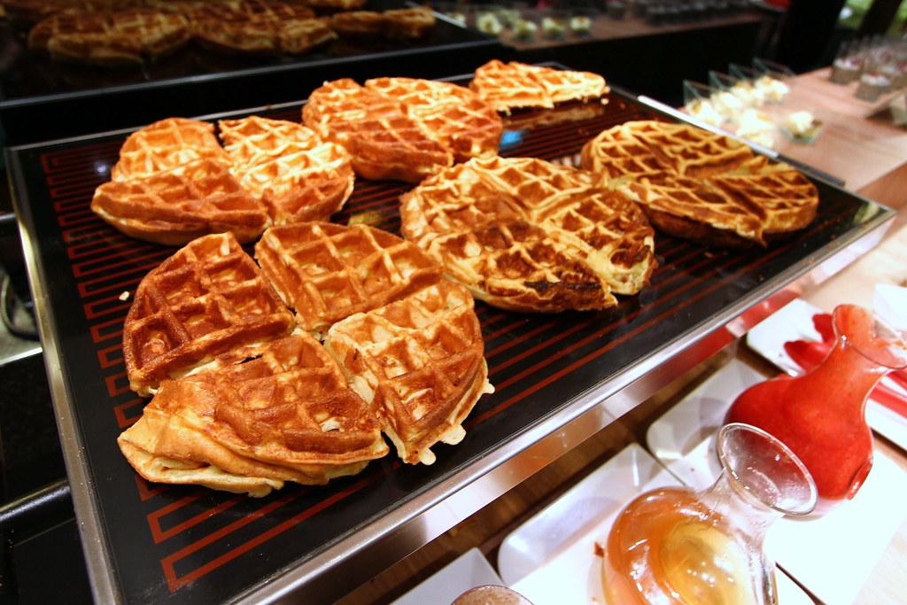 Kiseki日本自助餐餐厅:华夫饼精选