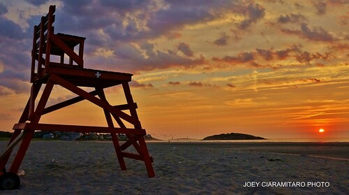 Gloucester At Dawn Good Harbor Beach and Thacher Island 6:32AM 9/15/12