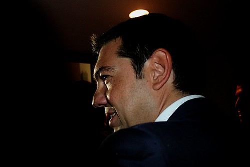 Alexis Tsipras - leader of SYRIZA by Teacher Dude's BBQ
