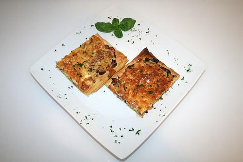 36 - Lauchkuchen mit Speck / Leek tarte with bacon - Serviert
