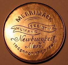 Merrimack Medal obverse