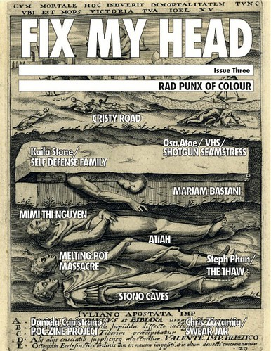 FIX MY HEAD ZINE ISSUE #3 BY ANNA VO