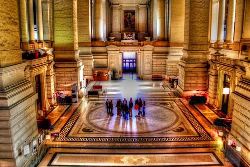 Belgique - Bruxelles - Palais de Justice