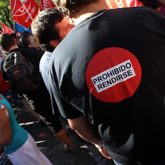 GRAN MARCHA A MADRID PARA DEFENDER EL FUTURO - 15.09.12