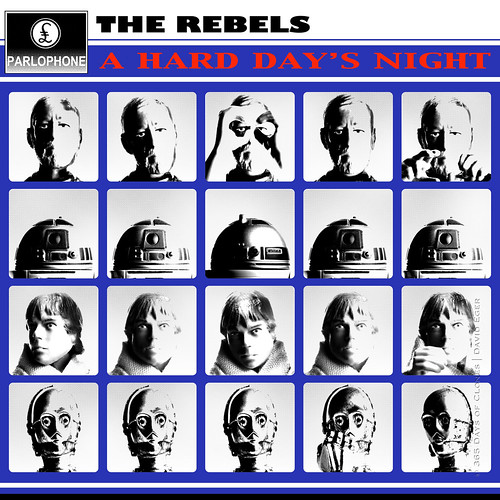 37/52 | The Rebels: A Hard Day's Night by egerbver