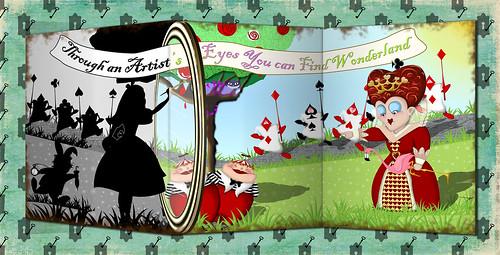Wonderland Through an Artist's Eyes by flowerlily1