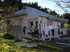 Vandalised house Burswood Perth