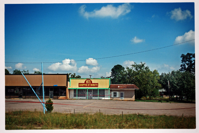 "Abandoned ""Shoppes of Variety"", South Carolina"