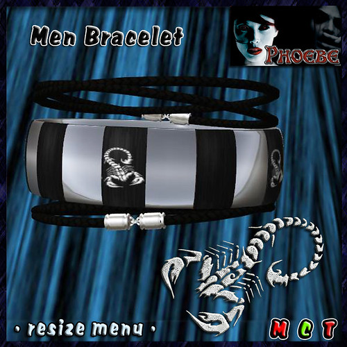 -P- Scorpions Bracelet for Men
