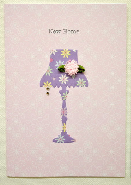 Gellie Design new home card