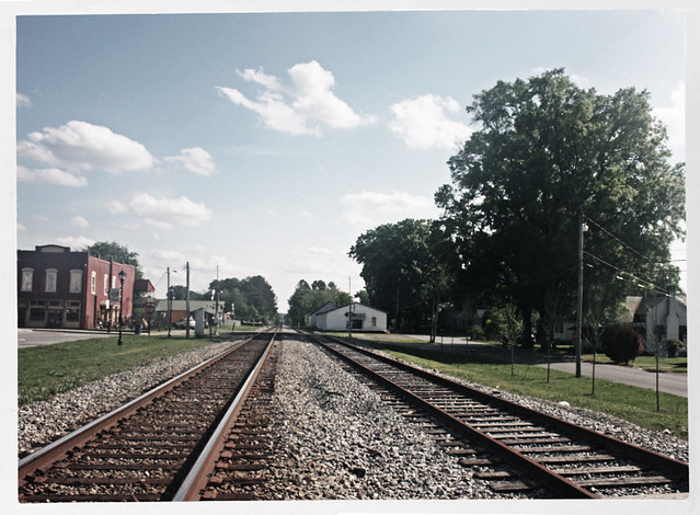 Railroad Tracks, Adairsville, Georgia