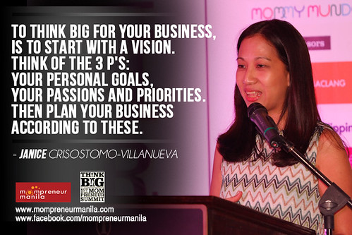 janice villanueva @ think big