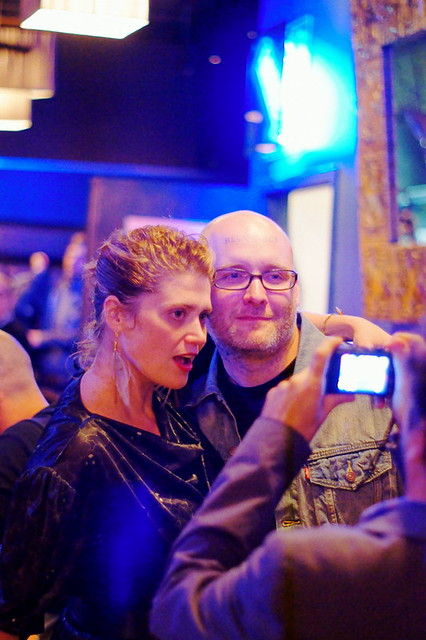Heidi Norton & Geoffrey Todd Smith @ EXPO Vernissage After Party