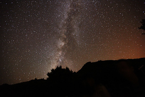 The Milky Way over La Palma