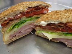 blt, sandwich, meal, chivito, ham and cheese sandwich, muffuletta, ciabatta, meat, food, dish, cuisine, roast beef,