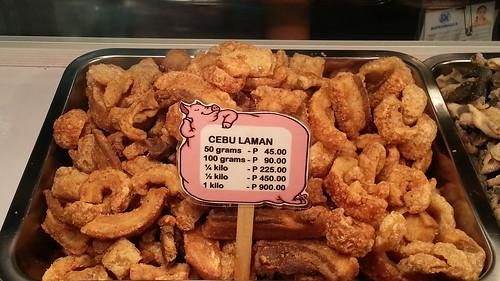 Cebu Laman (chicharon with meat) from Crave at SM City Davao - photo by DavaoFoodTrips.com