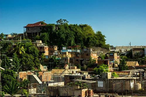 city summer travelling scenery rooftops cuba backpacking santiagodecuba caribean