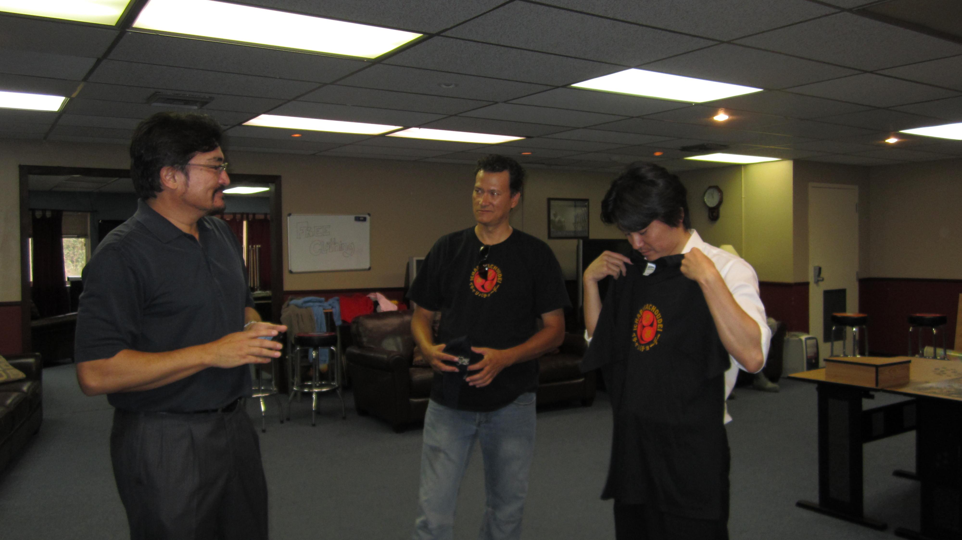 2012-09-19 A Lunch with Mr. Shin Koyamada and U.S. Airmen.