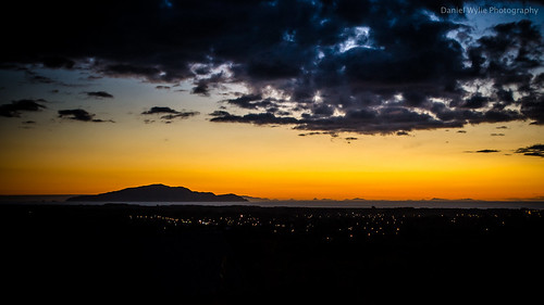Sunset over Kapiti