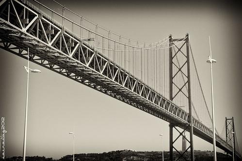 318/365 Puente 25 de abril, Lisboa by sairacaz