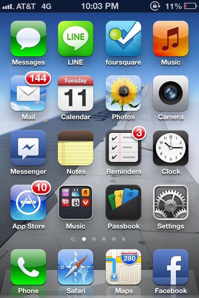 iPhone StraightTalk Snapshot AT&T