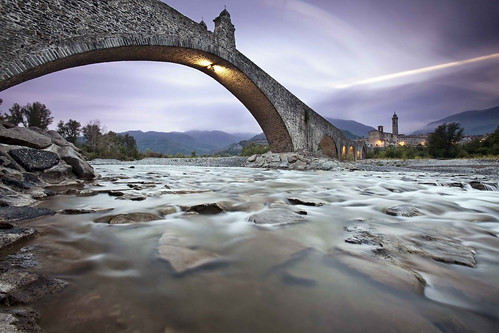 Explore photo: Devils's Bridge, Bobbio, Piacenza, remote Italy