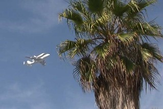 Space Shuttle over Venice Beach | 21 September 2012