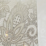 Metal lace panel @ 100% design