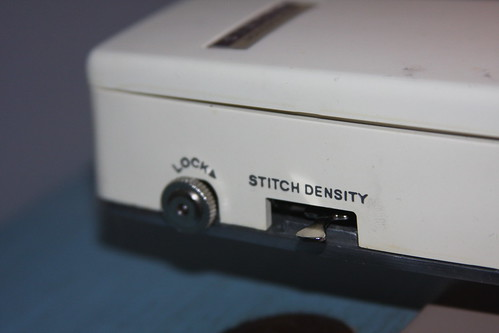 Stitch density - All the way to the back