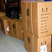 Individually boxed office chairs