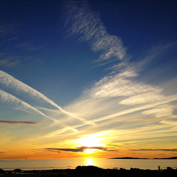 Sunset at Rhosneigr, September 2012