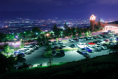 night landscape lights sony 日本 富士山 新日本三大夜景 mtfuji kofu amount carlzeiss 富士屋ホテル 甲府盆地 dslra900 sal2470z α900 フルーツライン variosonnart2470mmf28za 夜景山梨